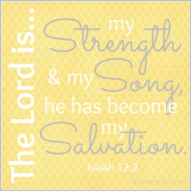 Isaiah12.2